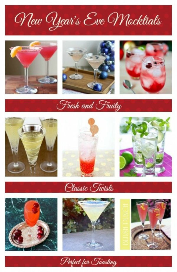 New Years Eve Mocktails for everyone. Dr. Chuck Crawford ...