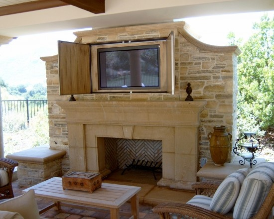 8 best images about outdoor tv cabinets on pinterest outdoor cabana patio fireplace and flats on outdoor kitchen tv id=18141