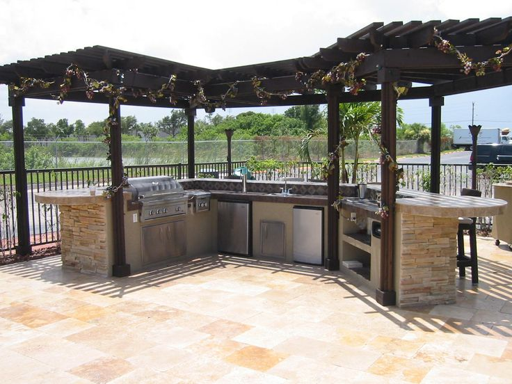 111 best images about outdoor kitchens on pinterest outdoor living backyards and pictures on outdoor kitchen gazebo ideas id=17204