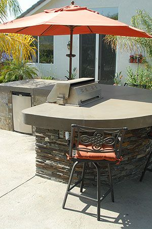 34 best images about BBQ island ideas on Pinterest | Pit ... on Backyard Patio Grill Island id=49279