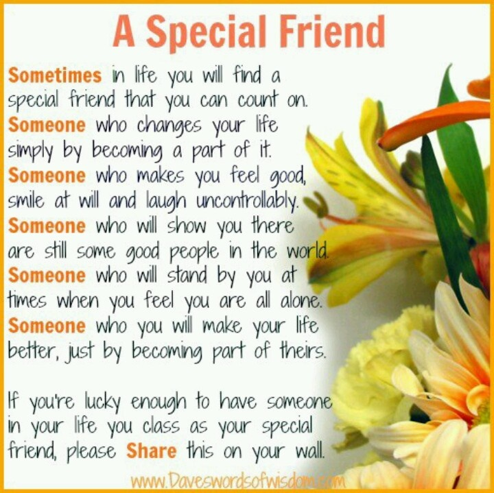 Special Person Quotes