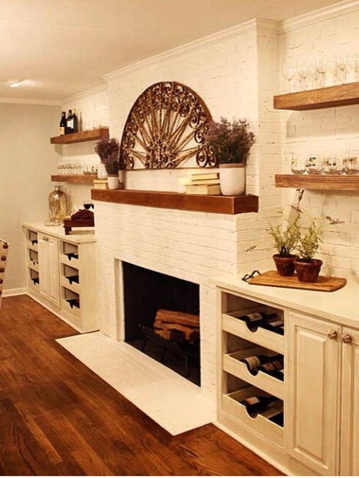 Fixer Upper Fireplace Idea Home Pinterest The O