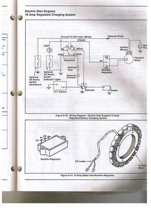 Kohler Engine Electrical Diagram | Re: Voltage regulator