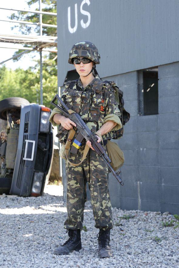 Airsoft player in Japan. Fashion Photo. Wear Ukraine ...