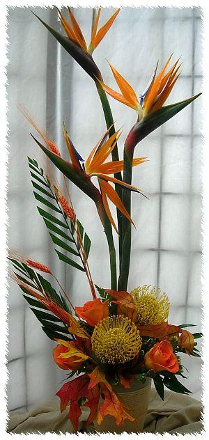 17 Best Ideas About Tropical Flower Arrangements On