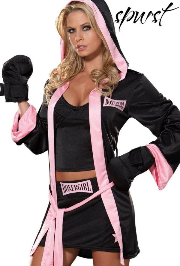 Boxer Girl Costume   Spurst.com   Costumes!   Pinterest ...
