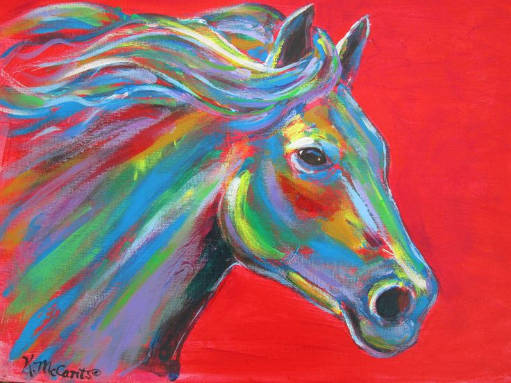 224 Best Images About Abstract Horses On Pinterest