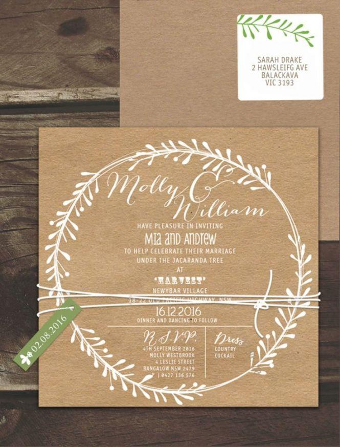 Wedding Invitations Online Australia