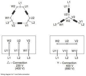 Delta Wye Motor Connection Diagram | E | Pinterest | Motors