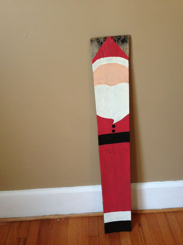 Pallet Santa MyOur Completed Projects Pinterest