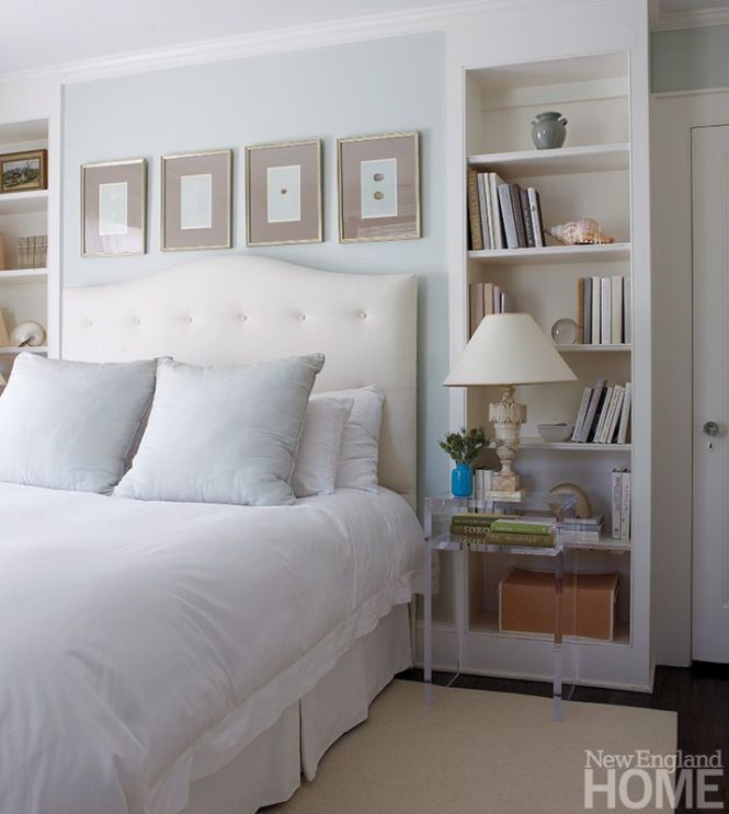 Bedroom Shelving New England Home Magazine