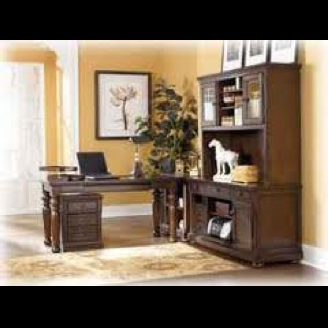 Office Furniture Ashley Furniture Porter Desk And Tall