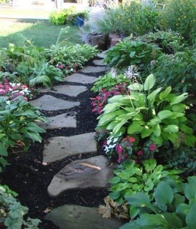 shade garden path ideas 17 Best images about Hosta Flower Gardens on Pinterest