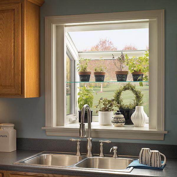 Window Kitchen Sink Garden Windows
