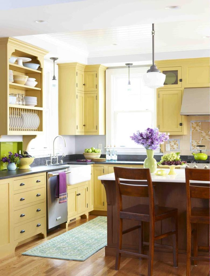 12 best images about yellow kitchen islands on pinterest patrick o brian antiques and yellow on kitchen ideas colorful id=43242