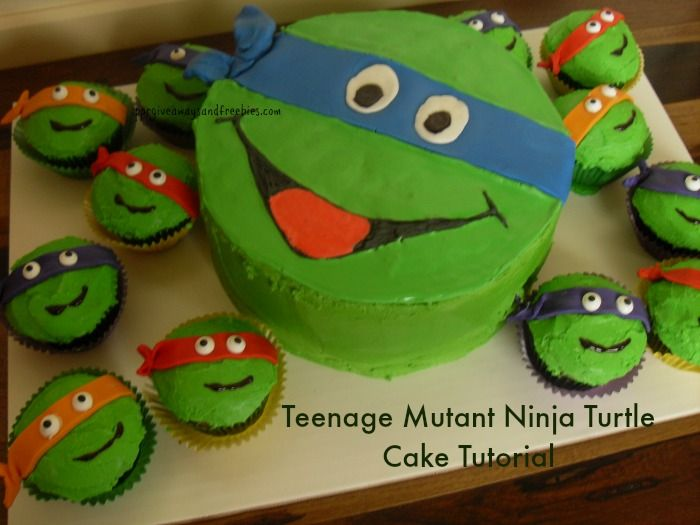 This Ninja Turtle Cake Tutorial is easy to understand. Learn how you can make this exquisite cake for that little guy in your