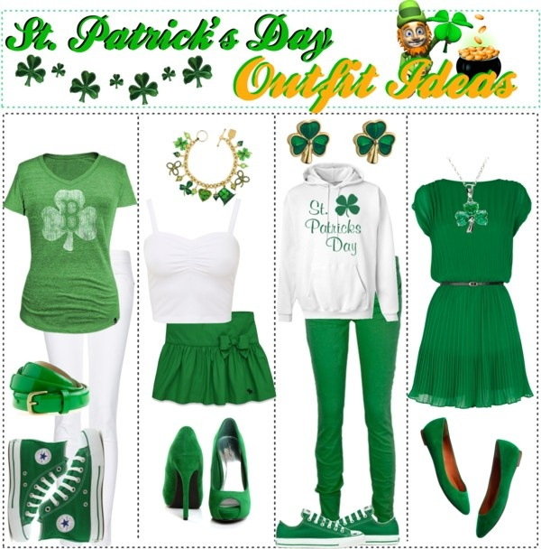 """""""St. Patrick's Day Outfit Ideas"""" by trishaissmiling liked ..."""