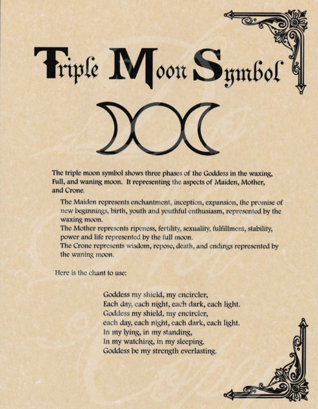 Book of Shadows Page Triple