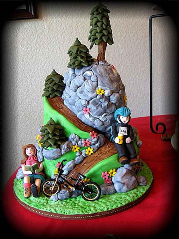 17 Best Images About Golf Bike Cakes On Pinterest Groom