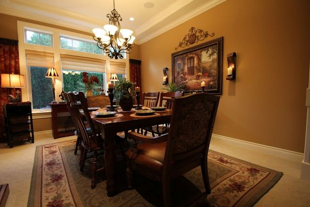 25+ Best Ideas About Tuscan Dining Rooms On Pinterest