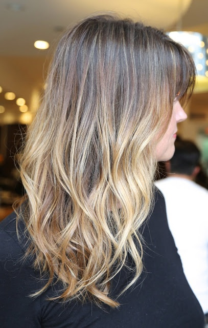 Ombre To Prevent Dishwater Blonde From Getting Too Drab