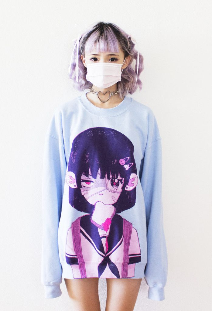 Kawaii Oversized Sweaters
