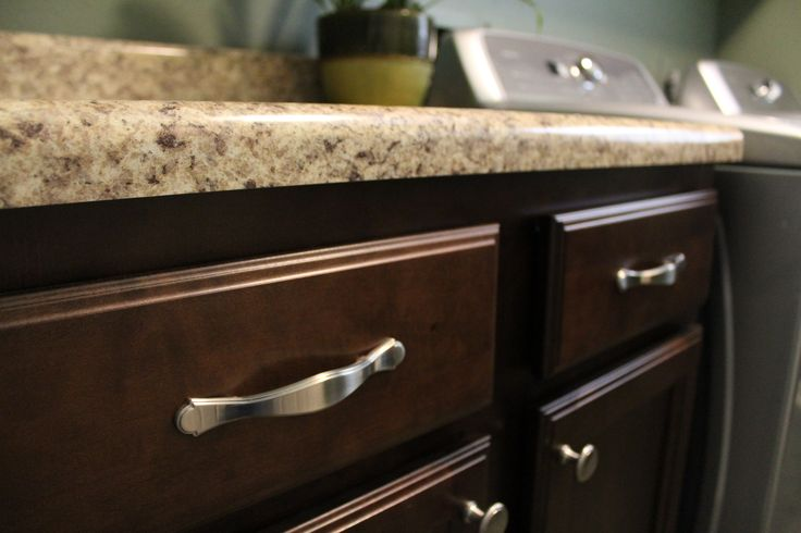 handles on cabinet drawers and knobs on cabinet doors silver nickel with dark cabinets on kitchen cabinets knobs id=70730