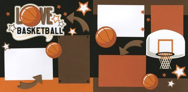 17 Best Images About Scrapbook SportsBasketball On