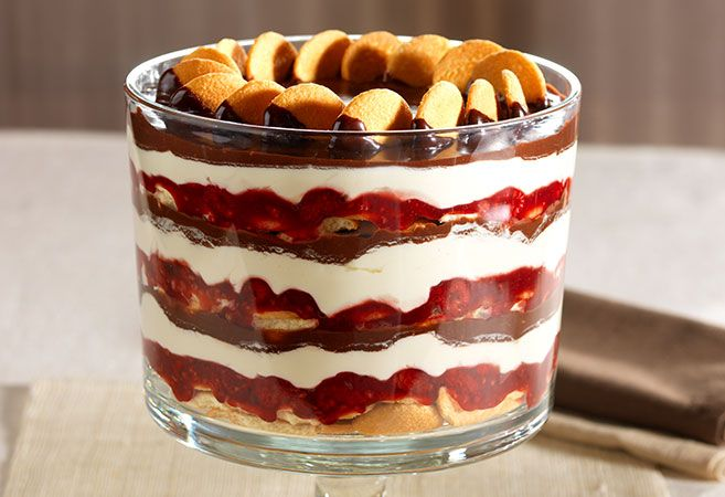 Christmas Brownie Trifle Pampered Chef Recipe