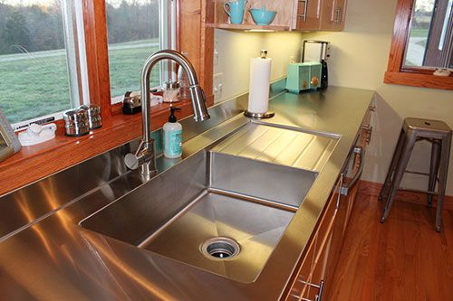 25+ Best Ideas About Stainless Steel Countertops On