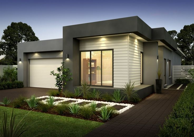 Modern Single Storey House Ideas For Open Floor Plan