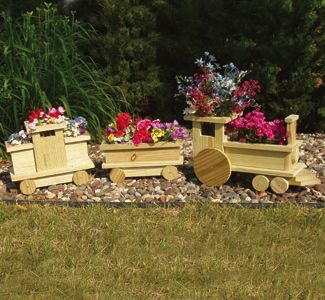 How To DIY Choo Choo Train Planter For Your Garden Www