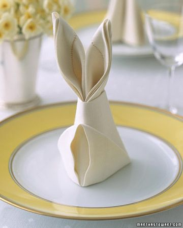 A cute idea for Easter dinn