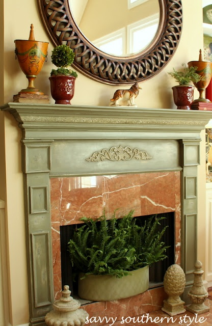 Annie Sloan Chalk Painted Mantle Painting Pinterest