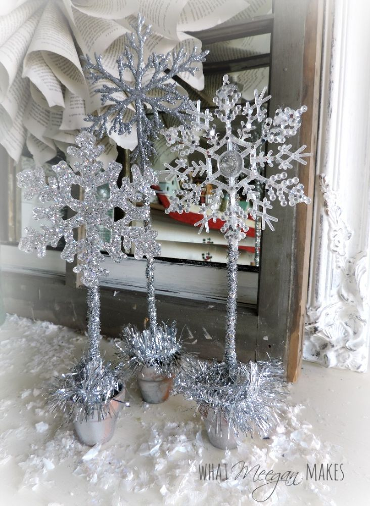 1000 Ideas About Snowflake Centerpieces On Pinterest
