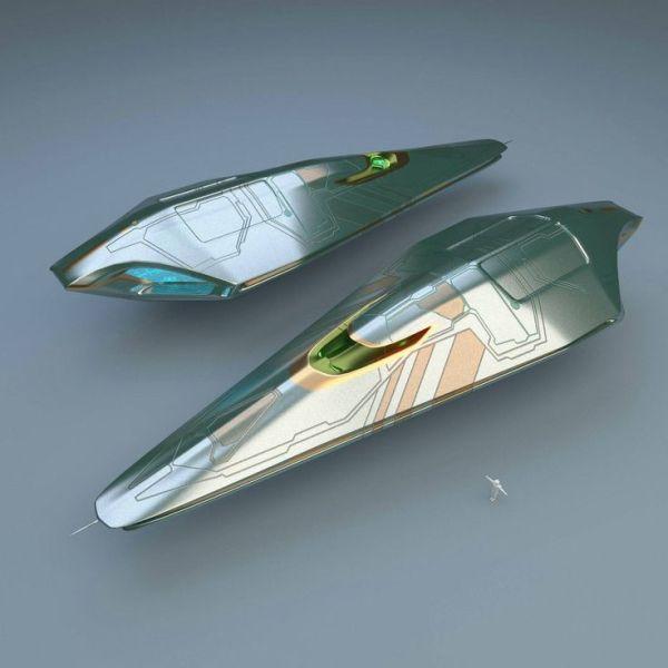 Luxury Spaceship by CGA32 | Starships | Pinterest ...