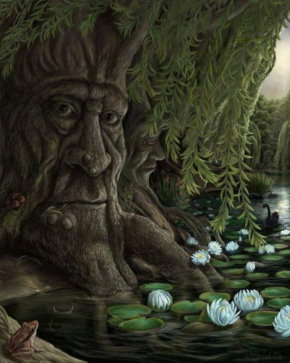 [изображение] Кад Годдэу, Кад Годдо, Кад Годдэх (Cad Goddeu), «Битва Деревьев» - средневековая валлийская поэма, входящая в «Книгу Талиесина». Точная датировка создания этой поэмы не представляетс... — Огам - кельтский оракул: