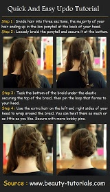 1000 Ideas About Quick Easy Updo On Pinterest Easy Updo
