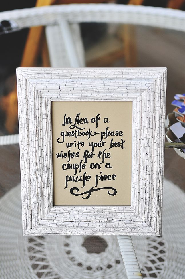25 Best Ideas About Puzzle Guest Books On Pinterest Wedding Games And Activities Kids