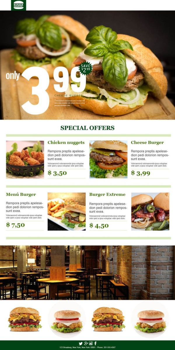 17+ images about Email Templates for Restaurants on ...
