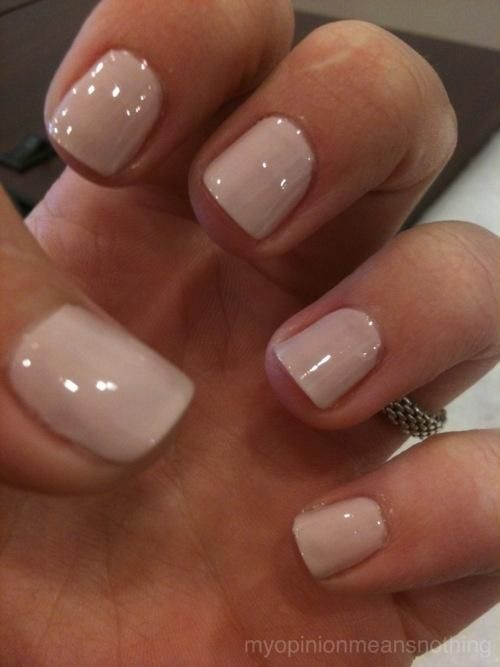 Love this color…Essie topless and