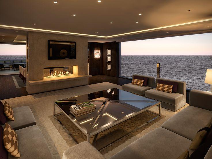 Superyacht Lounge Lawson Robb Wwwlawsonrobbcom