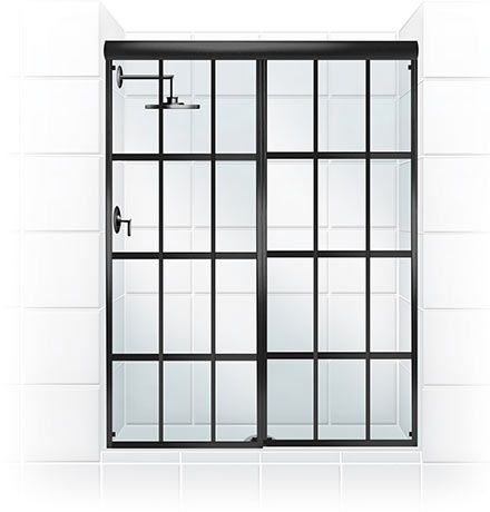 Coastal Shower Doors - Products - Gridscape Shower Doors