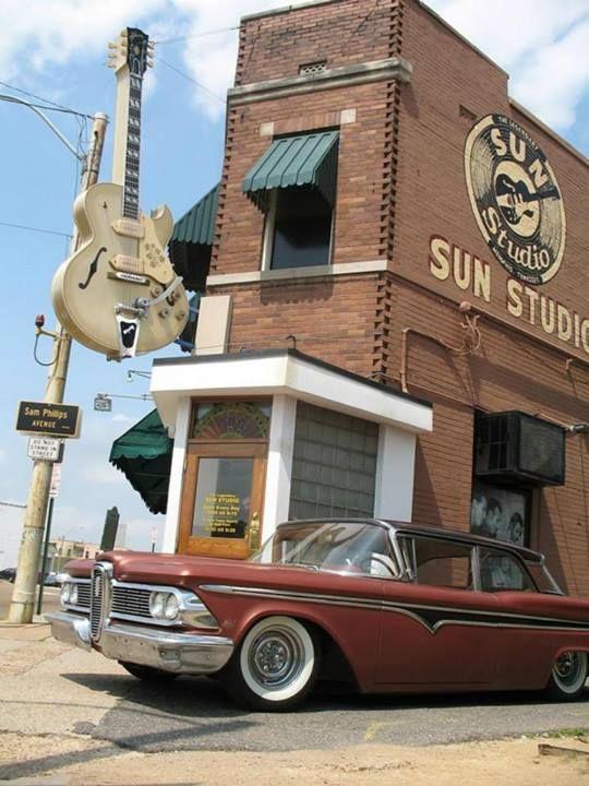 Sun Studio, famous recording studio opened by Sam Phillips ...