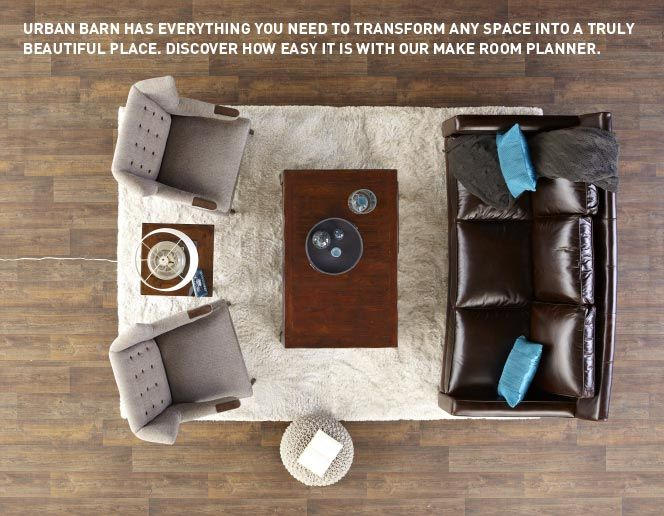VERY COOL WEBSITE.  Enter the dimensions of your room and the things you want to put in it… it helps you come up with ways to