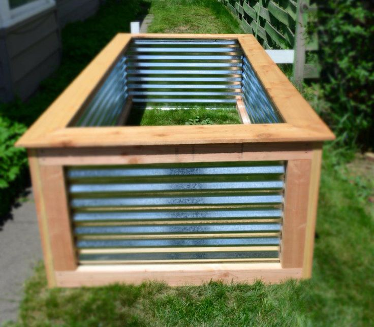 Awesome raised garden bed for the home craft ideas