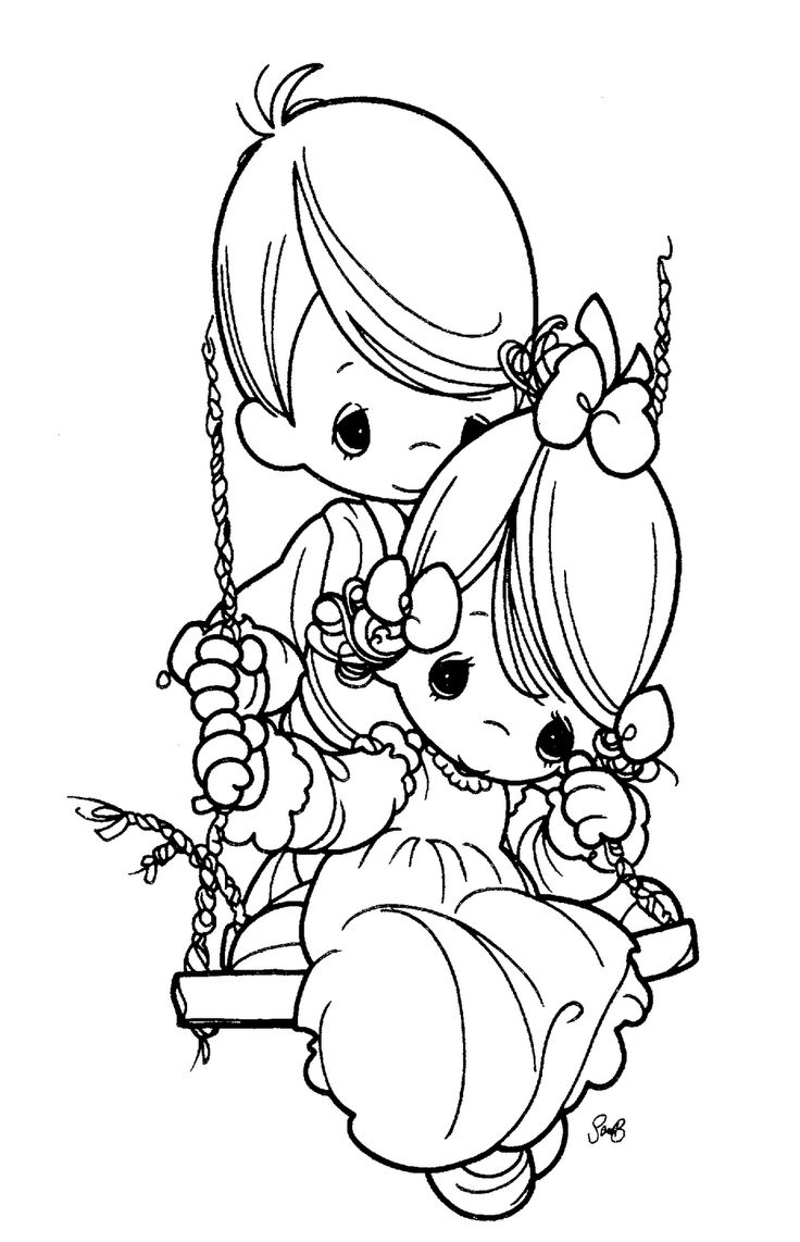 3 best images about coloring pages  precious moments on