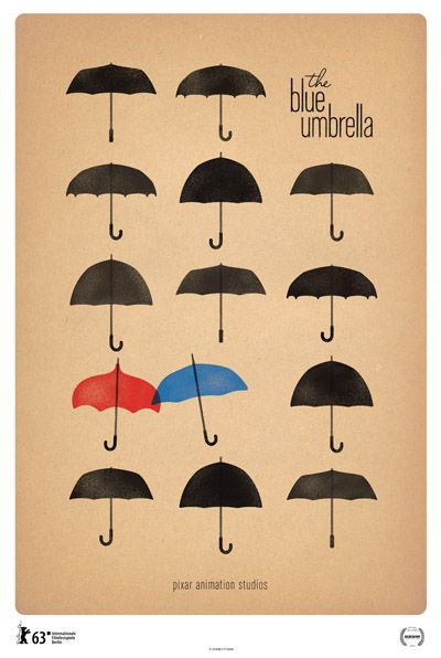 The Blue Umbrella: Pixars Newest Short Film. So simple, awesome, and beautiful :) // this was a great short.