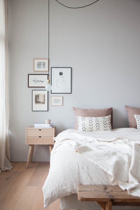 Bedroom Inspiration Interior Idea Home Gallery Grey Walluted Colour Palette