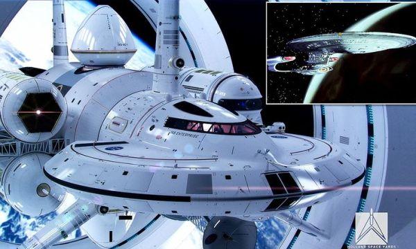 Engage warp drive Nasa reveals designs for a Star Trek
